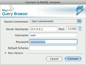 Verbindungsaufbau mit entfernten Mysql-Server per SSH-Tunnel